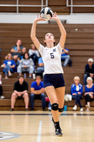 10-1-15 MC vs Lake Central Volleyball
