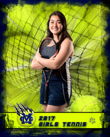 2017 MC Girls Tennis